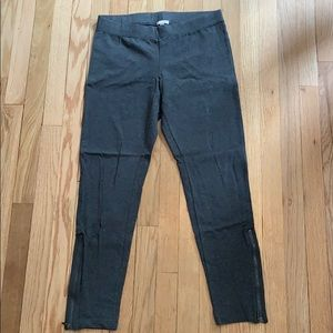 Heather gray Gap leggings